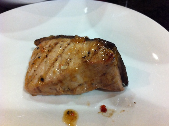 Sweet Chilli Tuna Steaks